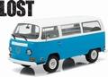 VW Volkswagen Bus 1971 Type 2 Blauw Blue 1/18