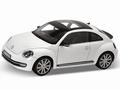 VW Volkswagen Beetle Kever Wit White 1/18
