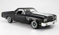 Chevrolet El Camino 1970 Zwart Black 1/18