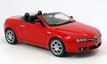 Alfa Romeo Spider Rood Red Cabrio 1/18
