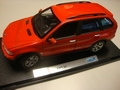 BMW X5  Rood  Red 1/18