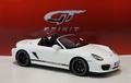 Porsche Boxter Spyder Wit  White Cabrio 1/18