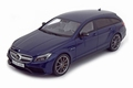 Mercedes Benz CLS Shooting Break AMG Blauw  Blue 1/18
