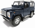 Land Rover Defender 90 Station wagen Donker blauw Dark blue 1/18
