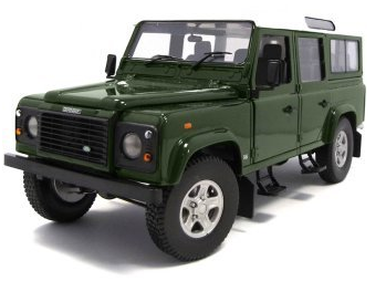 Land Rover Defender 110 Station wagon Groen Bronze Green 1/18