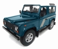Land Rover Defender 90 County station wagon Blauw  Blue 1/18