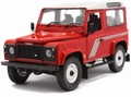 Land Rover Defender 90 Country station wagen Red Rood 1/18