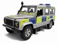 Land Rover Defender 110 Station wagon U K Police 1/18