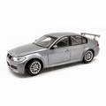 BMW 320 si WTCC Test car Zilver Silver 1/18
