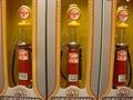 Benzine pomp - naft pomp Gasoline met meetglas 1/18