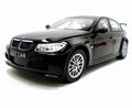 BMW 320 si WTCC Test car Zwart  Black 1/18