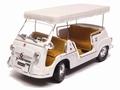 Fiat 600 D Multipla  Wit  White Cabrio 1961 1/18