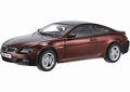BMW M6  Rood  bordeaux Red 1/18