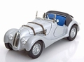 BMW 328 Cabrio  Zilver Silver + Soft top 1/18