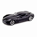 Chevrolet Corvette 2009 Stingray Concept Zwart  Black 1/18