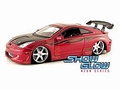 Toyota Celica  Rood  Red with real working red neon lights 1/18