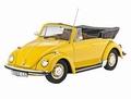 VW Volkswagen Kever Beetle 1302 LS Cabriolet Geel Yellow  1/18