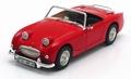 Austin Healey Sprite - Frogeye Cabrio Red  Rood 1/18