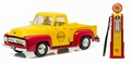 Ford F 100 Pick up truck Shell  Geel Rood  Yellow Red 1/18