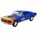 Ford Mustang  Cooters Blauw  Blue 1/18