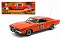 Dodge Charger #01 General Lee Oranje Orange Dukes of Hazzard 1/18