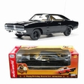 Dodge Charger Zwart  Black Dukes of Hazzard 1/18