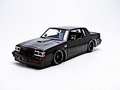 Buick Grand National TM Zwart  Black Dom's Buick 1/18