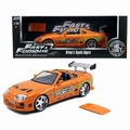 Toyota Supra Oranje Orange Brain's Supra 1/18