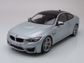 BMW M4 Coupe Zilver Silverstone Silver 1/18