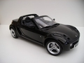 Smart Roadster Cabrio  Zwart  Jack Black 1/18