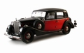 Maybach SW35 hard top 1935 Zwart Rood    Black Red 1/18