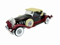Packerd 734 Speedster  1930  Zwart Rood  Black Red 1/18