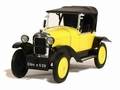 Citroen  5 CV Geel  Yellow 1/18