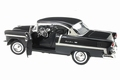 Chevrolet Chevy Bel air 1955 Zwart  Black 1/18