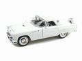 Ford Thunderbird 1956 Wit White 1/18