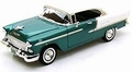 Chevrolet Chevy Bel air 1955 Groen Wit  Green White 1/18