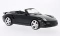 Porsche 911 Turbo Cabriolet Zwart Black 1/18