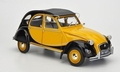 Citroen 2 cv pk Charleston Geel Zwart  Yellow Black 1/18