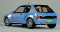 Peugeot 205 GTI Tuning 1990 Blauw  Blue 1/18