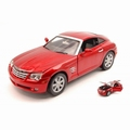 Chrysler Crossfire 2002 Rood  Red 1/18
