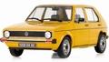 VW Volkswagen Golf 1  CL Geel Riyard Yellow  1/18