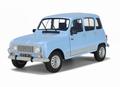 Renault 4 GTL  Blauw Jacinthe  Blue 1/18