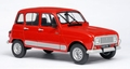Renault 4 GTL  Rood  Red 1/18