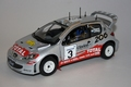 Peugeot 206 WRC Safari rally 2002 # 3 1/18