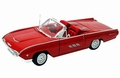 Ford Thunderbird Sport Roadster 1963 Rood Red  1/18