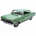 Chevrolet Nova 1963  Groen Laurel Green 1/18