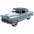 Chevrolet Bel Air 1953 Blauw  Blue  1/18