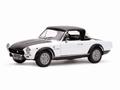 Fiat Spider CSA 1972  Wit White 1/18