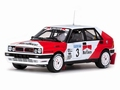 Lancia Delta integrale  # 3 Swedish rally 1989  1/18
