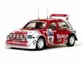 MG Metro 6R4  # 19 M , Duez/ W,Lux RAC Rally 1986 Belga 1/18